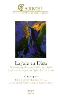 La joie en Dieu (n°119)