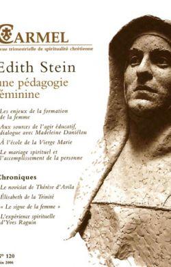 Edith Stein une pédagogie féminine (n°120)