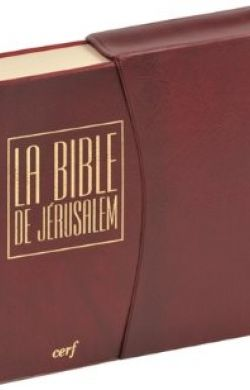 Bible de Jérusalem de poche