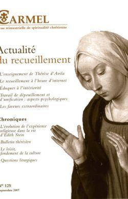 Actualité du recueillement (n°125)