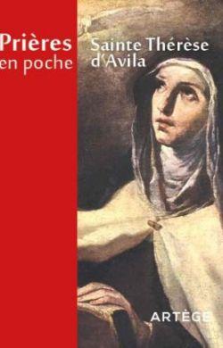 Prières en poche-Sainte Thérèse d'Avila