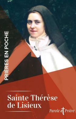 Prières en poche-Sainte Thérèse de l'Enfant-Jésus