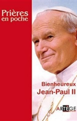 Prières en poche-Jean-Paul II