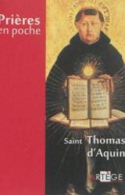 Prières en poche-Thomas d'Aquin