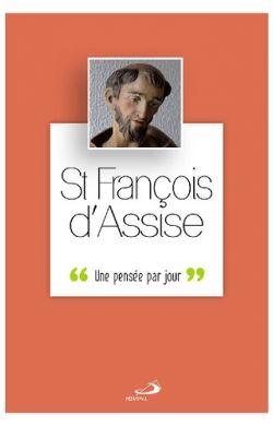 Une pensée par jour-François d'Assise