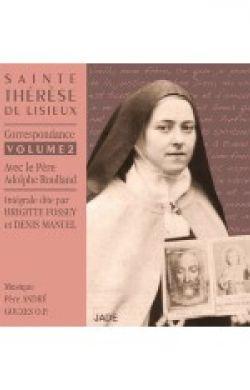 CD Sainte Thérèse de Lisieux Correspondance V2