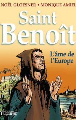 BD- Saint Benoît, l'âme de l'Europe