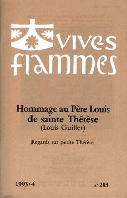 Hommage au Père Louis de sainte Thérèse (Louis Guillet) (n°203)