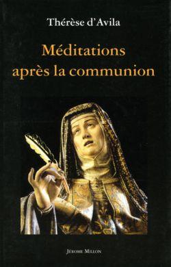 Méditations après la communion