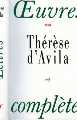 Oeuvres Complètes Th d'Avila - Lettres