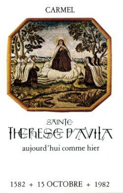Sainte Thérèse d'Avila aujourd'hui comme hier (n°24)