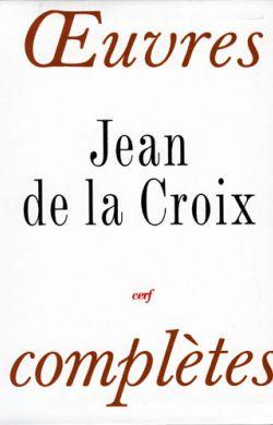 Oeuvres complètes st Jean de la Croix