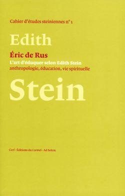 L'art d'éduquer selon Edith Stein