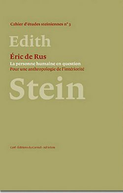 Edith Stein - La personne humaine en question