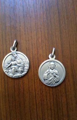 Médaille scapulaire Argent