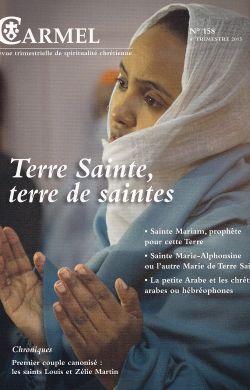 Terre Sainte, terre de saintes (n°158)